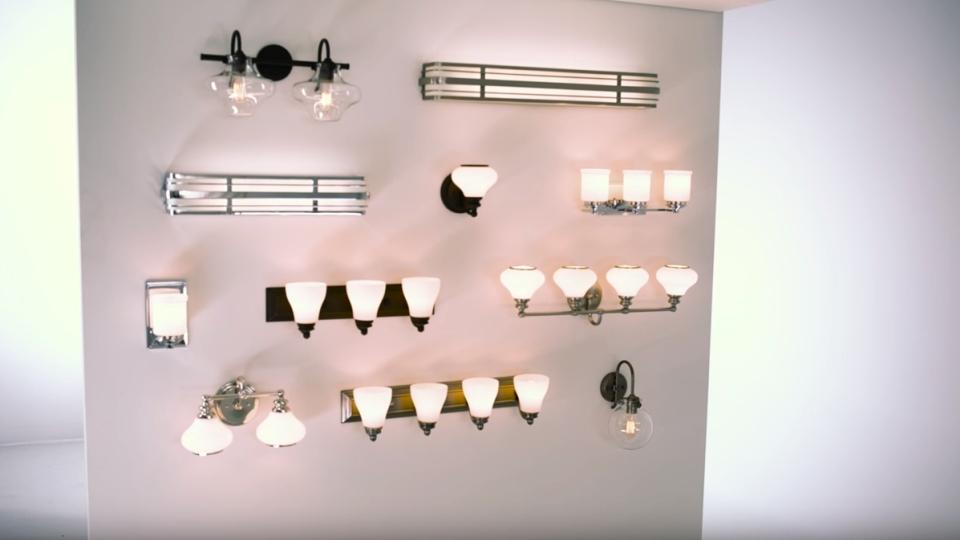 Hinkley Historical Bath Lighting video - LightsOnline.com