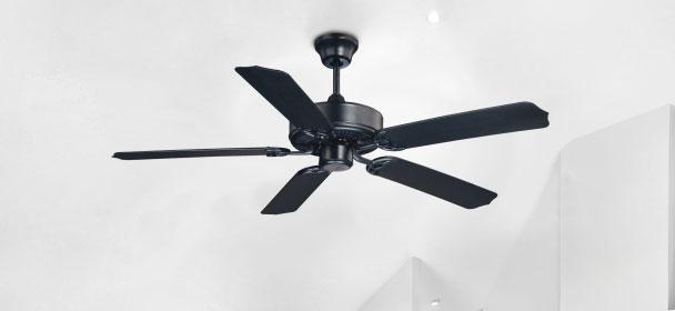 Black ceiling fans - LightsOnline.com