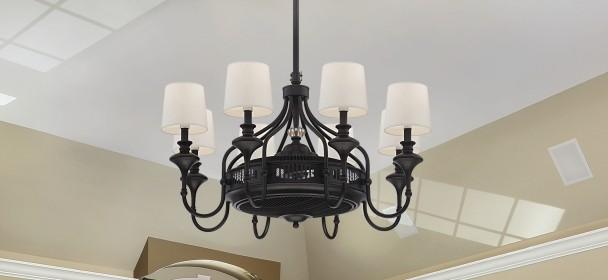Ceiling Fan Chandeliers - LightsOnline.com