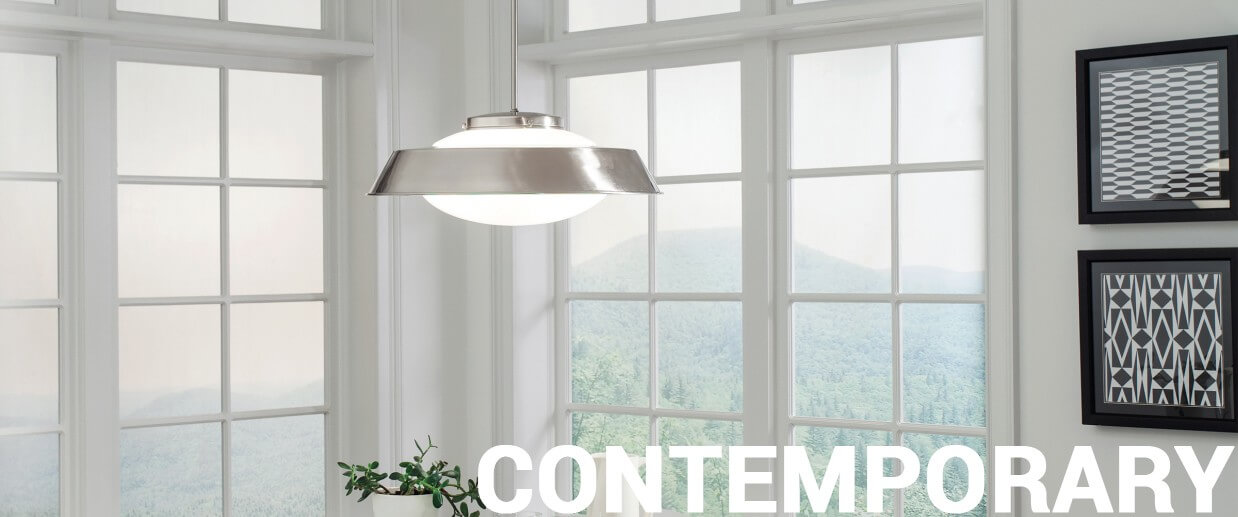 Contemporary ceiling lights - LightsOnline.com