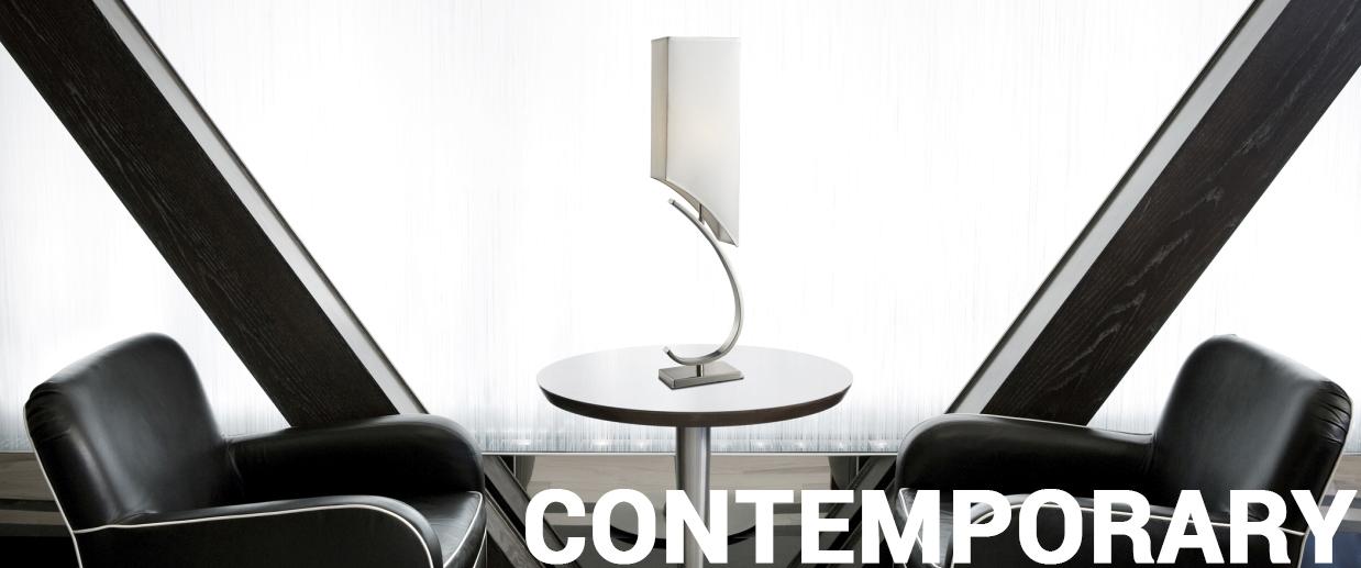 Contemporary lamps - LightsOnline.com
