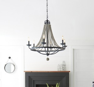 French Country Chandeliers - LightsOnline.com