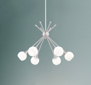 Mid-Century Modern Chandeliers - LightsOnline.com