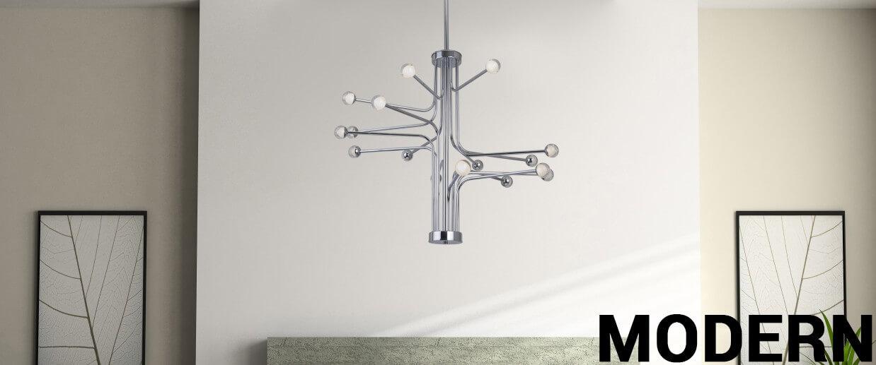Modern chandeliers - LightsOnline.com