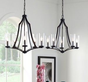 Modern Farmhouse Chandeliers - LightsOnline.com