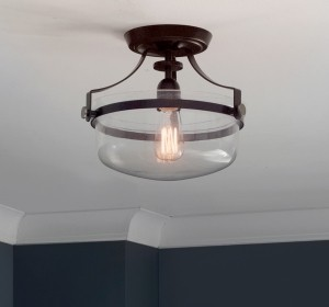Semi-Flush Mount Lights - LightsOnline.com