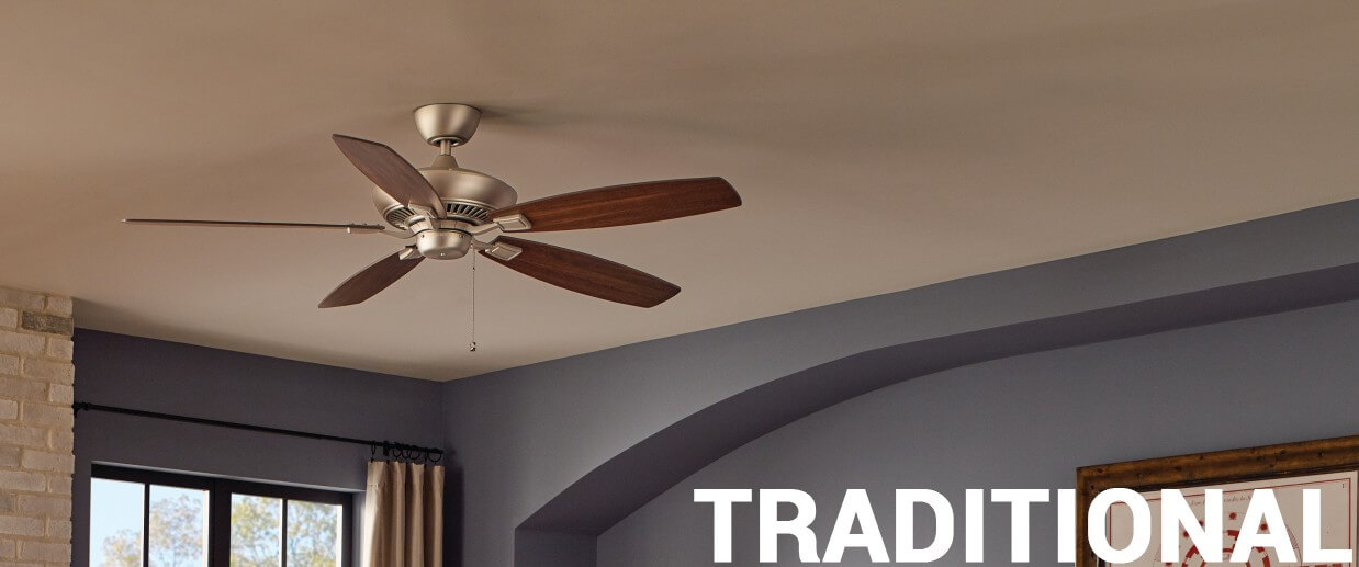 Traditional ceiling fans - LightsOnline.com