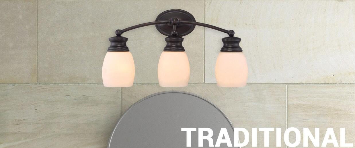 Traditional wall lights - LightsOnline.com
