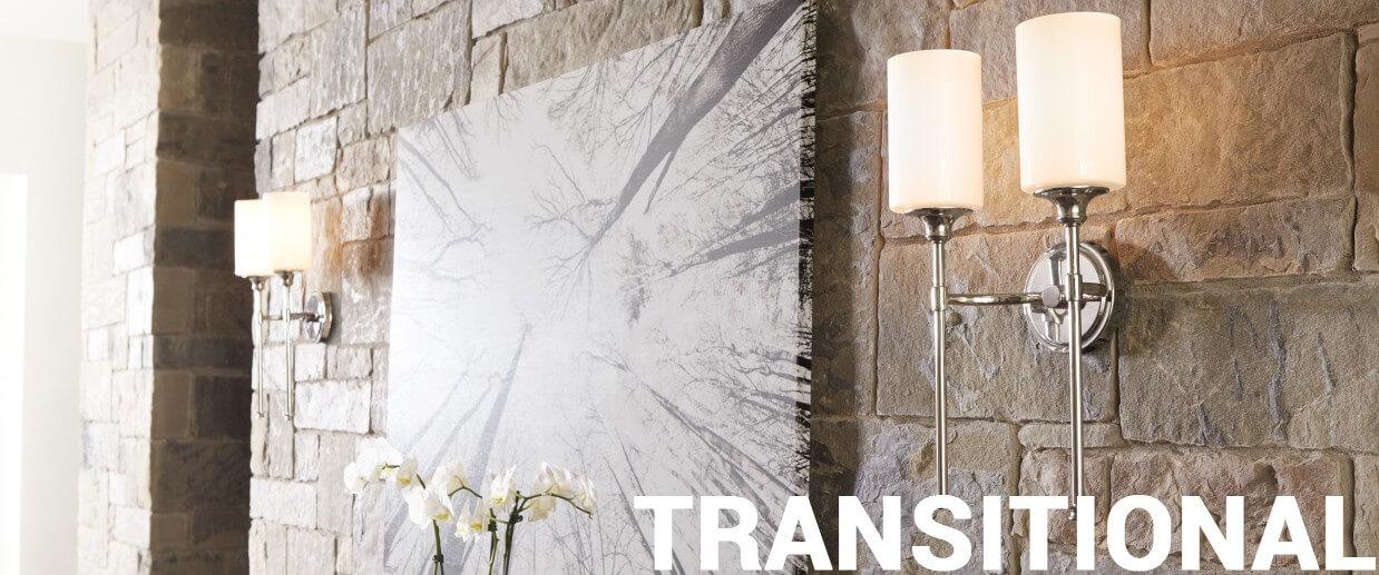 Transitional wall lights - LightsOnline.com