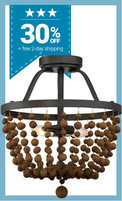 Save 30% + Free Shipping on All Trade Winds Lighting