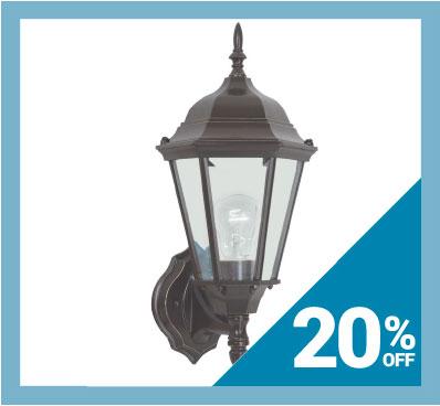 Save 20% on Sea Gull Lighting