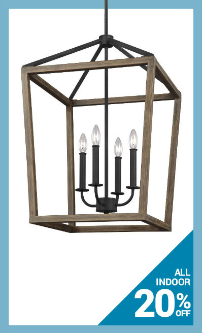 Save 20% on Indoor Lighting by Feiss