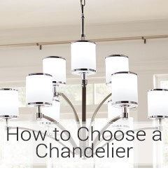 Learn how to choose a chandelier at LightsOnline.com
