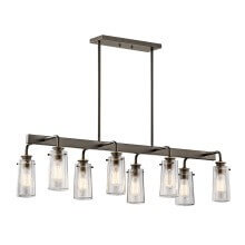 Shop linear chandeliers at LightsOnline.com