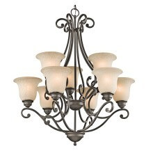 Shop traditional chandeliers at LightsOnline.com