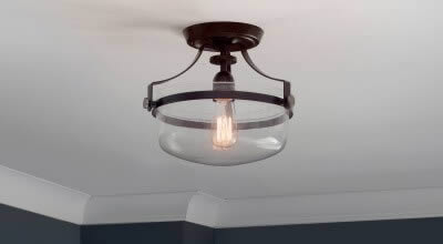 Peachtree swinging side light for