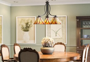 Tiffany Dining Room Lighting