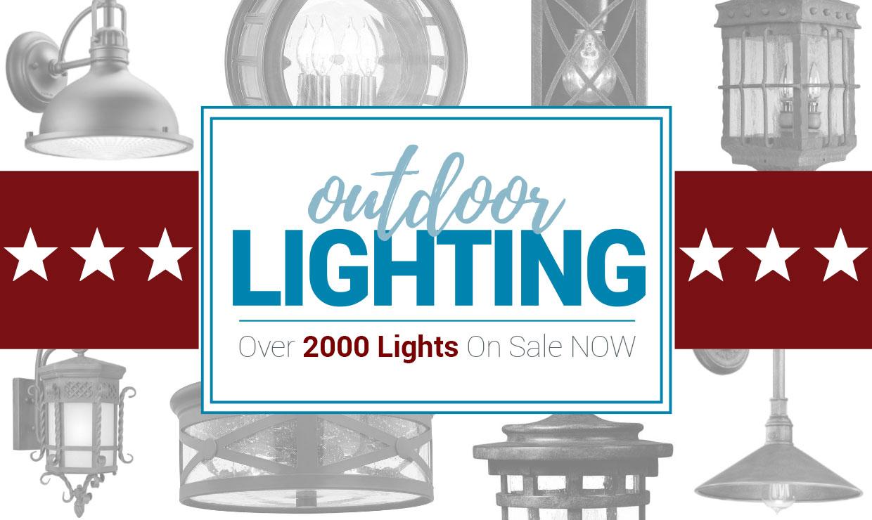 Outdoor Lighting - Over 2000 Lights on Sale Now